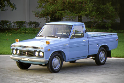 The Hilux first debuted in Japan in 1968. Picture: TOYOTA