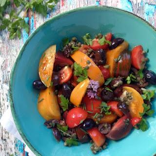 Fresh Tomatoes Puttanesca