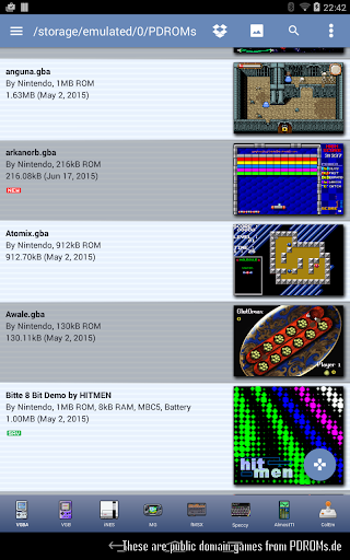 VGBAnext - Universal Console Emulator 6.4.1 screenshots 14