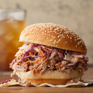 North Carolina Pulled Pork BBQ Sandwich.