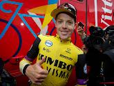 Steven Kruijswijk blij met derde plaats in klassement van de Tour