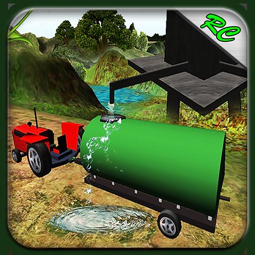 拖拉机水转运3D 模擬 LOGO-玩APPs