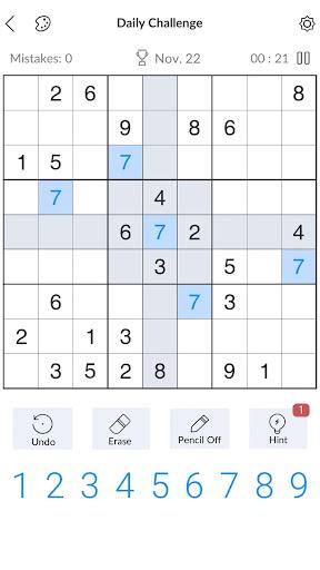 Sudoku - Free Classic Sudoku Puzzles 3.6.2 screenshots 1