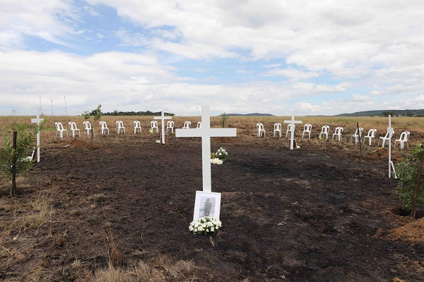 Tears and heartache as families of helicopter crash medics visit accident site