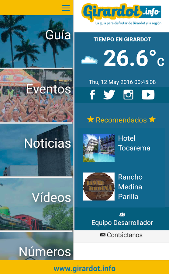 Girardot.info- screenshot