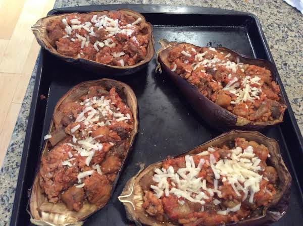 Berenjena Rellena (spanish Stuffed Eggplant) Recipe