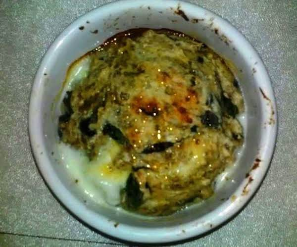 Baked Florentine Lorraine With Honey Drizzle