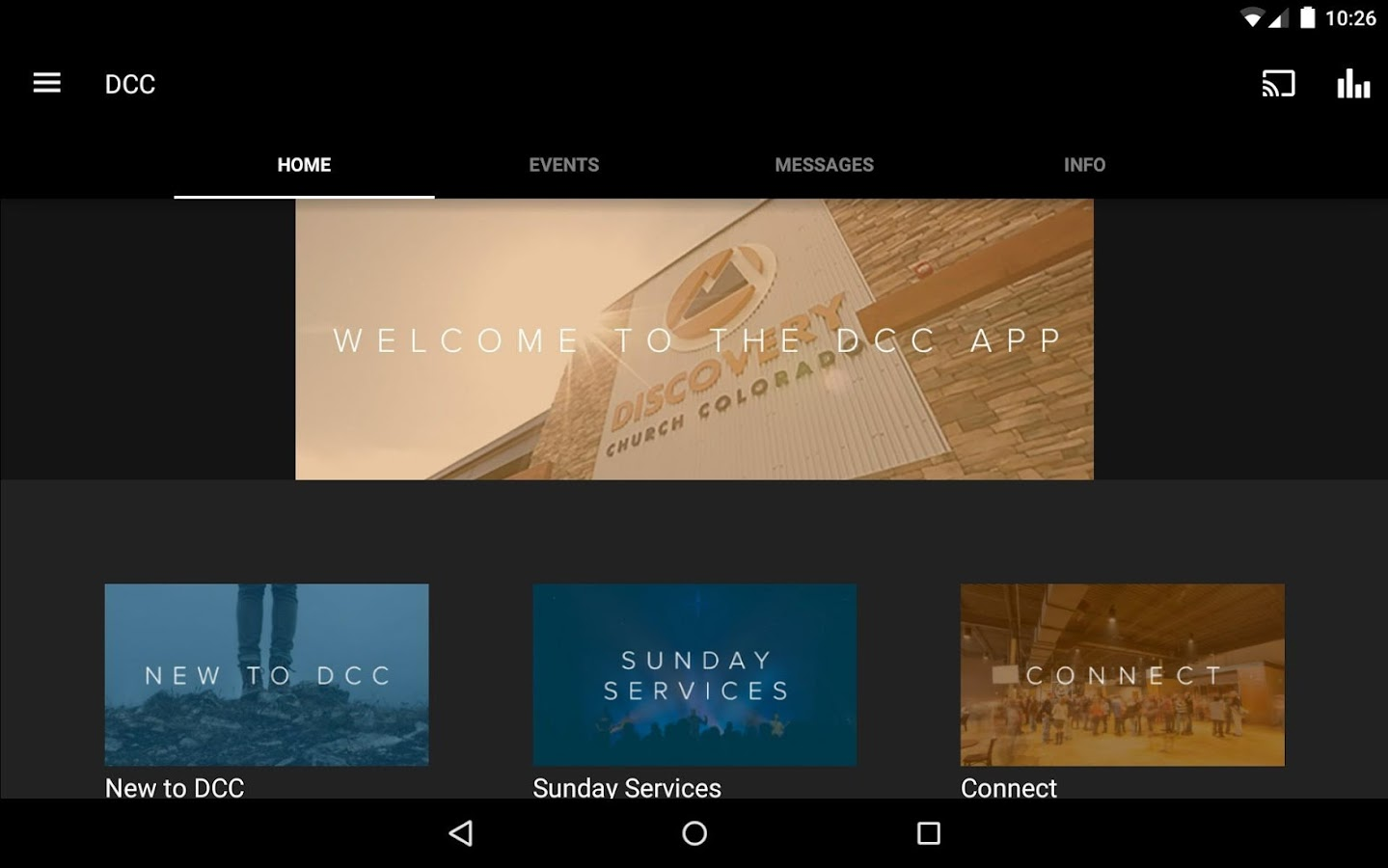 Discovery Church Colorado- screenshot