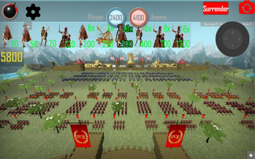 Roman Empire: Caesar Wars 1.3 screenshots 1