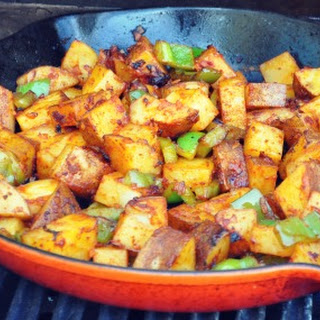 Barbecued Potatoes on the Grill Recipe