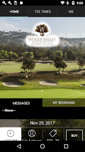 Woods Valley Golf Tee Times- screenshot thumbnail