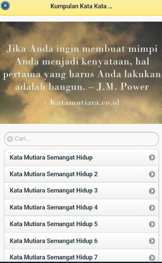 Kumpulan Kata Kata Semangat App Report On Mobile Action
