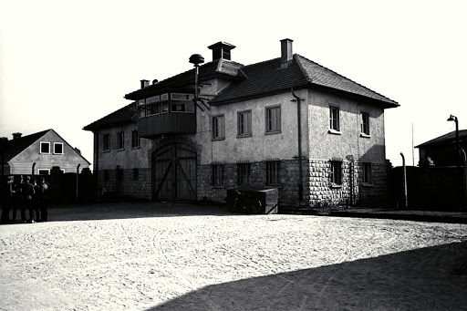 Former commander's house – after liberation