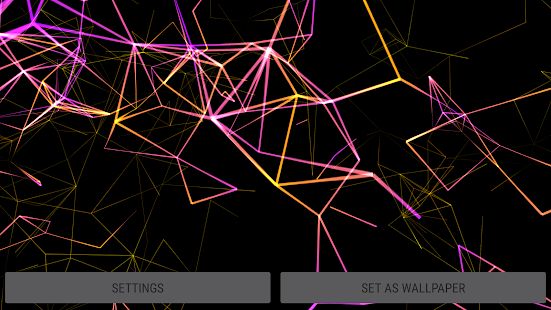 [Neon Particles 3D Live Wallpaper] Screenshot 21