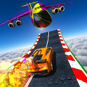 Rocket Car Racing Stunts