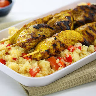 Moroccan Chicken with Couscous.