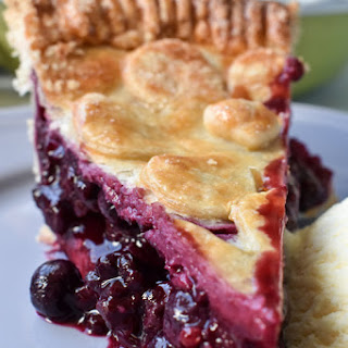 Triple Berry Summer Pie.