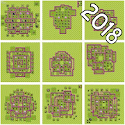 Maps of Clash of Clans 2018