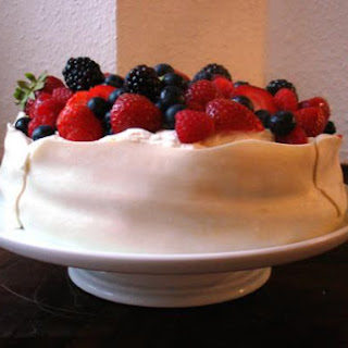 Marzipan and raspberry cream layered Birthday Cake
