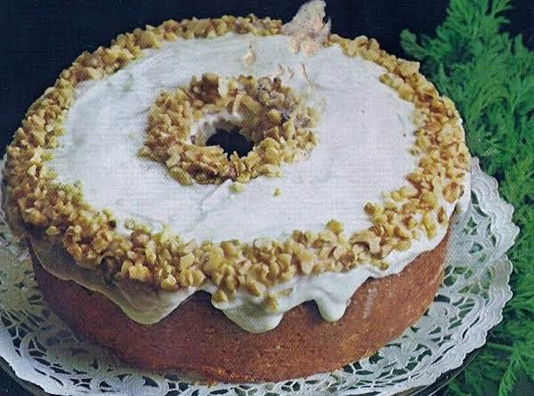 Yummy Carrot Walnut Cake Recipe