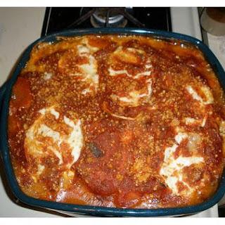 Fiery Vegetarian Lasagna