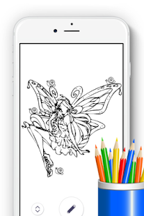 How to Draw WinX for Fans - náhled