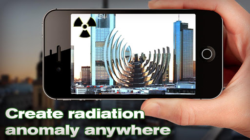 Radiation Rays Prank