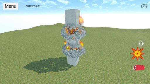 Destruction physics: explosion demolition sandbox screenshots 7