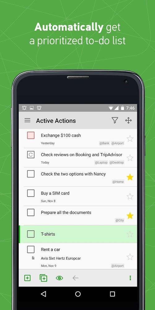 Screenshot 4 MyLifeOrganized: To-Do List 2.12.13 APK PAID