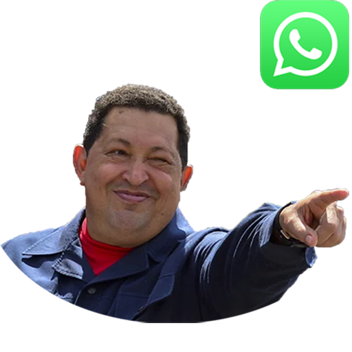 Chavez and Venezuela stickers for WhatsApp