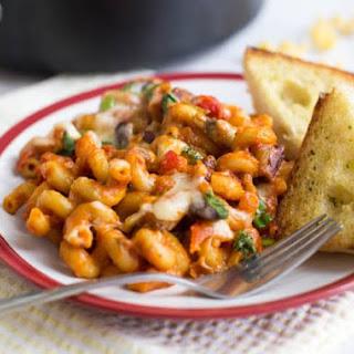 One Pot Vegetarian Chilli Mac Recipe