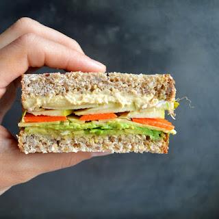 Loaded Vegetarian Sandwich