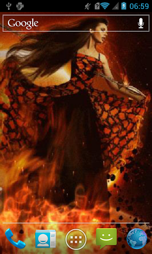 Girl on fire Live WP