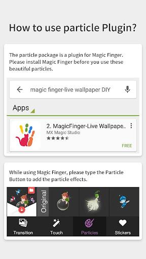 玩程式庫與試用程式App|可爱小精灵动态贴纸特效包-魔幻手指动态贴纸插件包免費|APP試玩