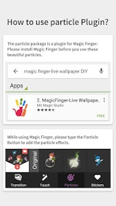 Fairy - Magic Finger Plugin screenshot 1