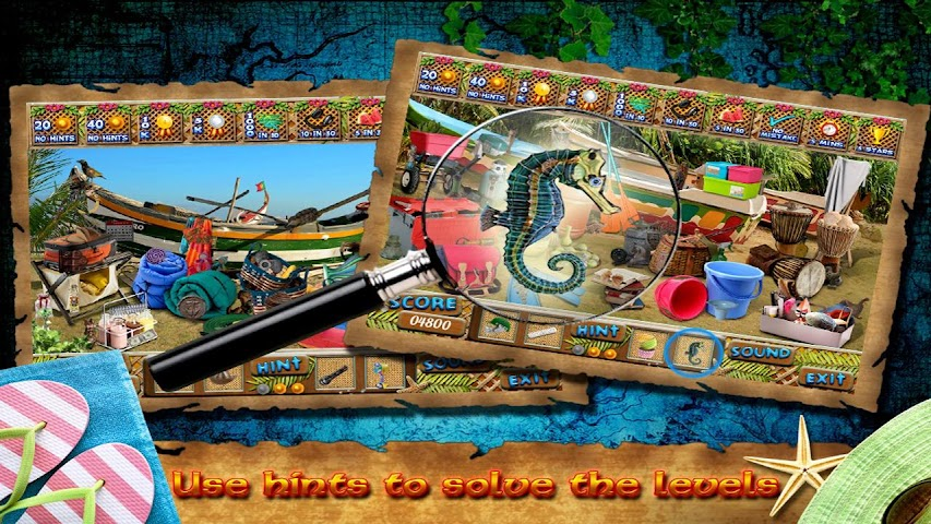 android At Shore Find Hidden Object Screenshot 1