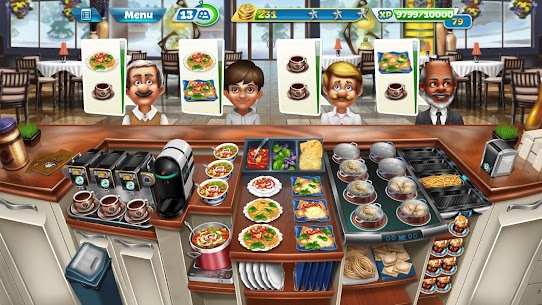 Cooking Fever Mod Apk 10.0.0 (Unlimited Coins + Gems) 7