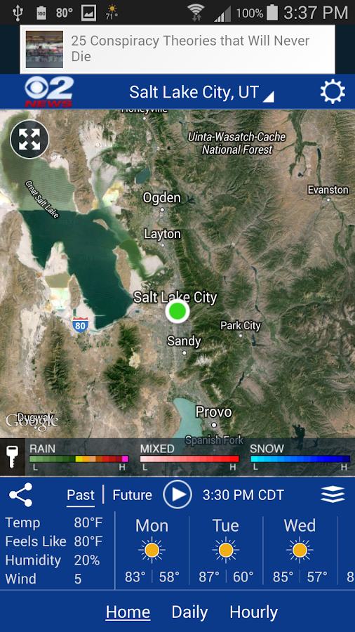 KUTV WX- screenshot