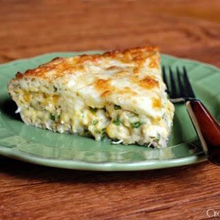 Cheesy Chicken Quesadilla Pie.