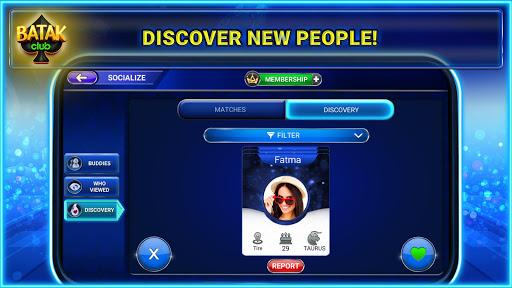 Batak Club: Online Batak Eu015fli Batak u0130haleli Batak android2mod screenshots 6