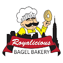 Royalicious bagel bakery icon