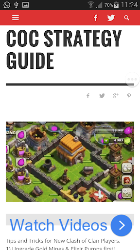 Strategy Guide for Coc