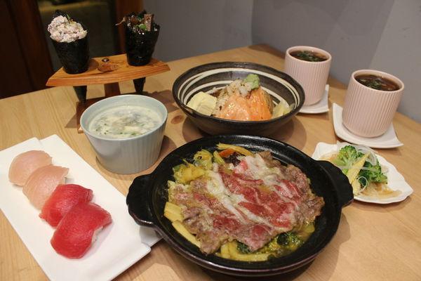 安曇野食卓壽司燒鍋-真材實料日式料理,新鮮吃得到