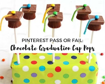 Pinterest Pass Or Fail: Chocolate Graduation Cap Pops Recipe