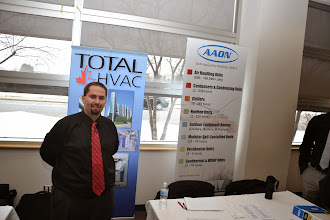 Photo: ASHRAE Career Fair 2014 - Algonquin College T Building