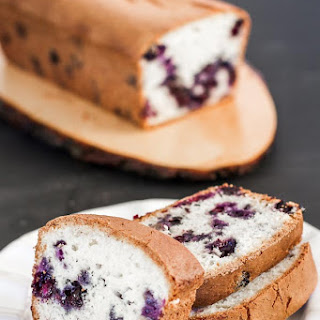 Blueberry Bread.