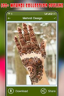 Download Mehndi Design : Dulhan Mehndi (Offline) For PC Windows and Mac apk screenshot 4