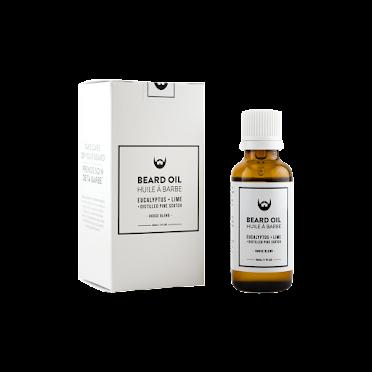 Eucalyptus + Lime Beard Oil