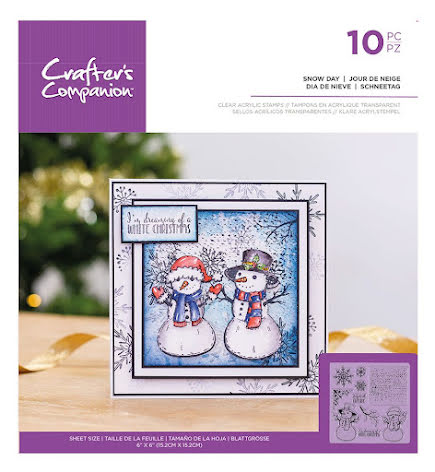 Crafters Companion Clear Acrylic Stamp - Snow Day