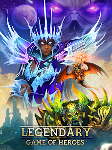 Legendary: Game of Heroes – RPG Puzzle Quest Apk Download For Android and Iphone 1